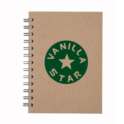 "5"" x 7"" Value Recycled Spiral Notebook Journal"