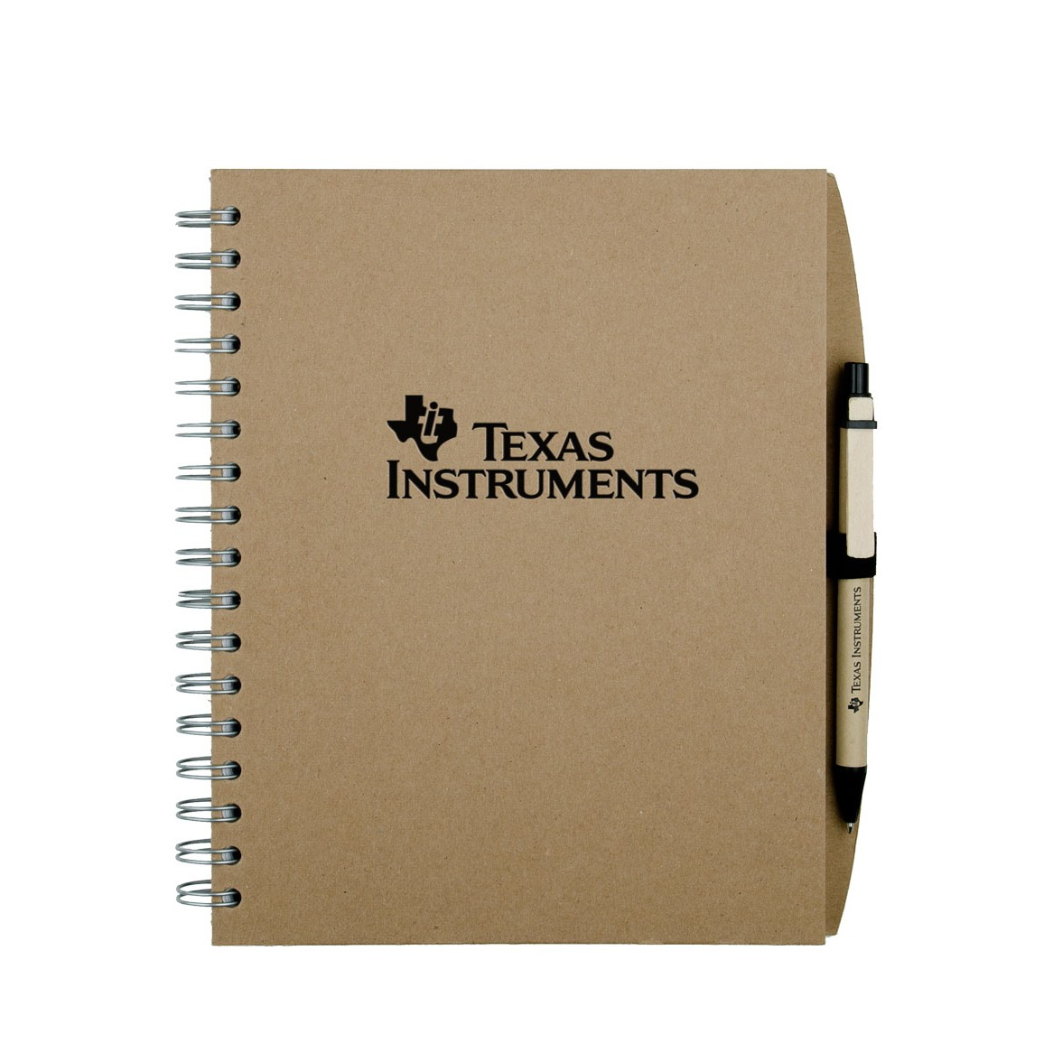 "7"" x 9"" Value Recycled Spiral Notebook Pen Journal MADE IN USA"