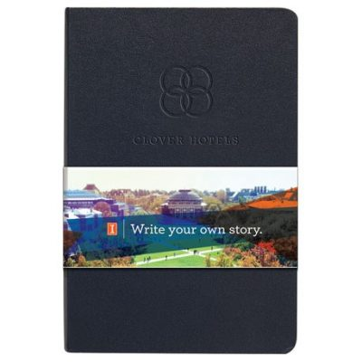 Ambassador Graphic Wrap Bound JournalBook™