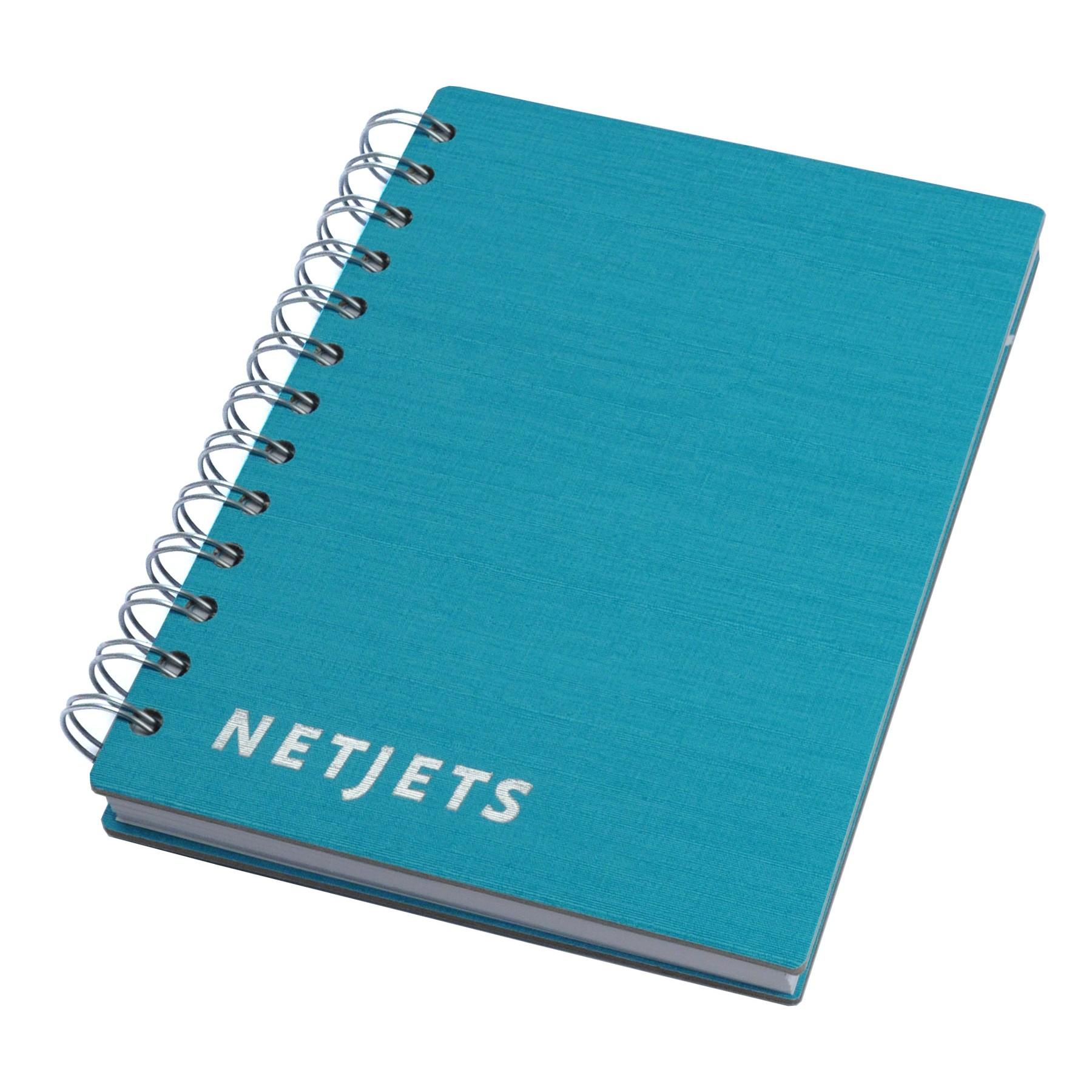 Boardroom Basics Spiral Journals w/ 100 Sheets 5″x7″ | Branded Journals