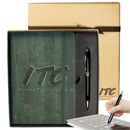 Casablanca™ Journal & Executive Stylus Pen Set