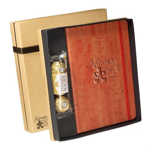 Casablanca™ Journal & Ferrero Rocher® Chocolates Gift Set