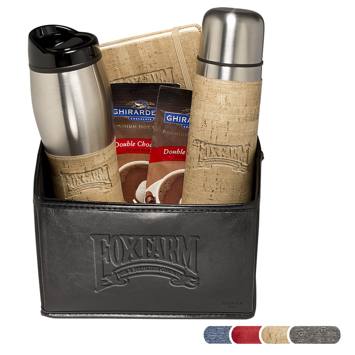 Casablanca™ Thermos/Tumblers/Journal/Ghirardelli Gift Set