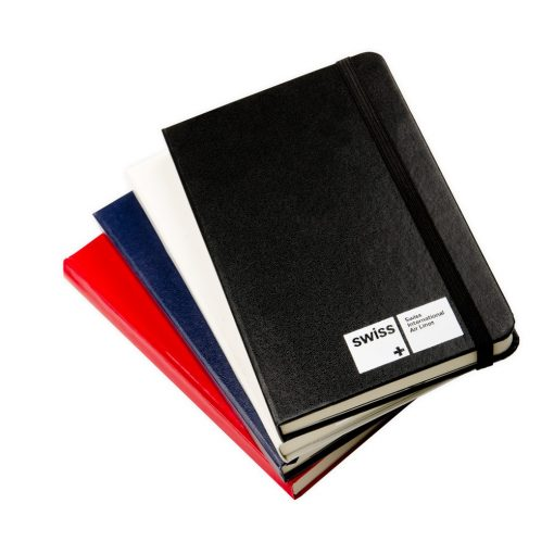 "Essential Leatherette Turned-Edge Covering Journal - 3.5""x5.5"""