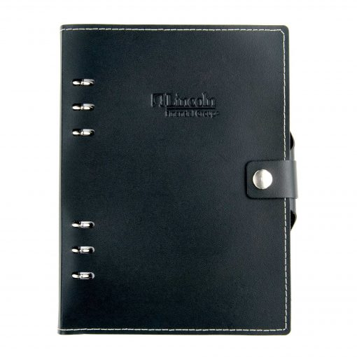 "Infinity Leather Sleek Design Journal - 5.5""x8.5"""