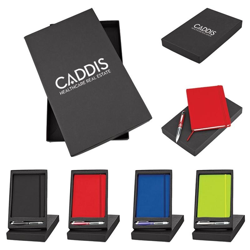 Journal & LED Pen Stylus Gift Set