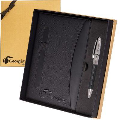 Naples™ Two-Tone Journal & Pen Gift Set