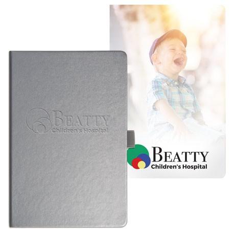 Nova Graphic Page Deboss Plus Bound JournalBook™