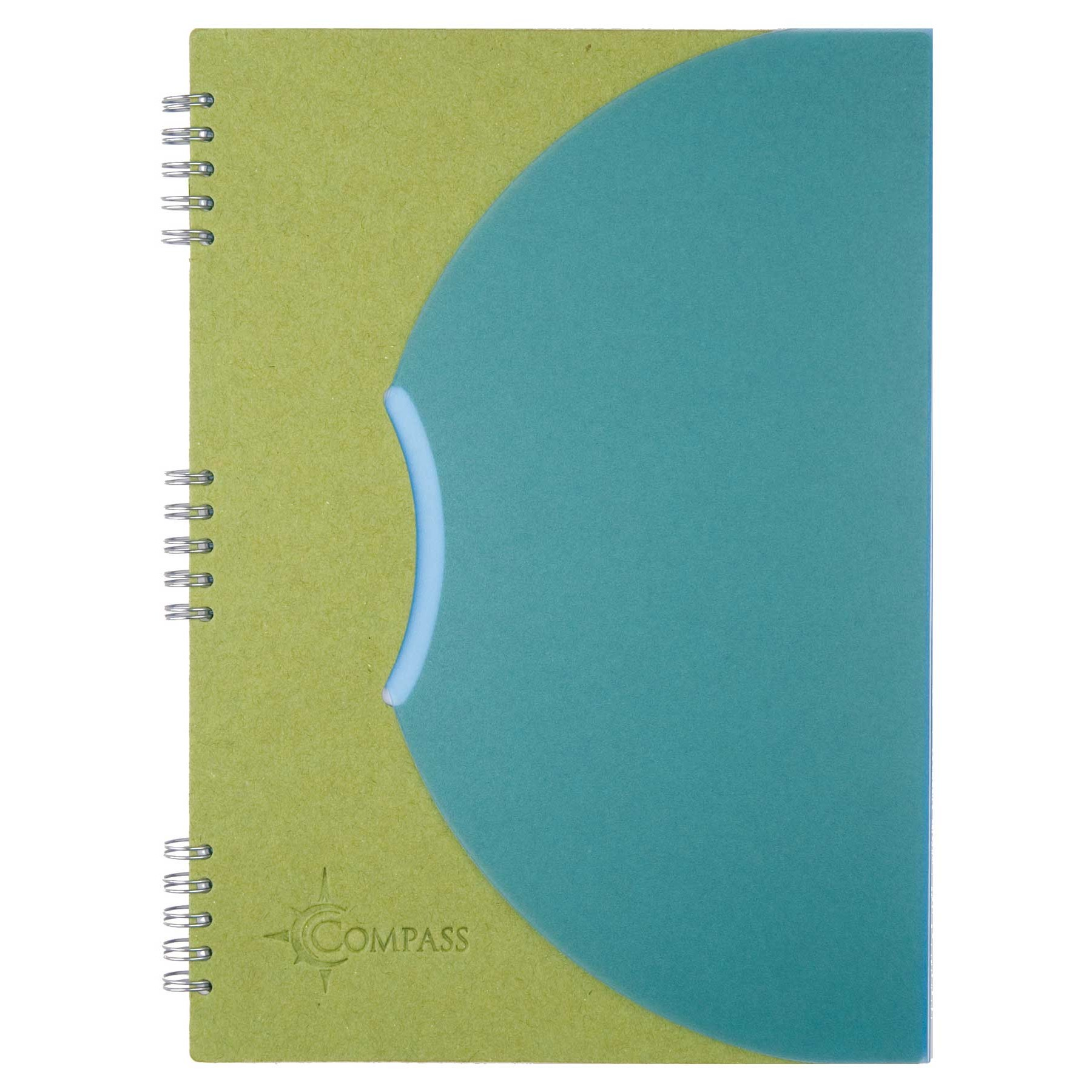 "Tuck-In Flap Closure Spiral Journals 7""x10"""