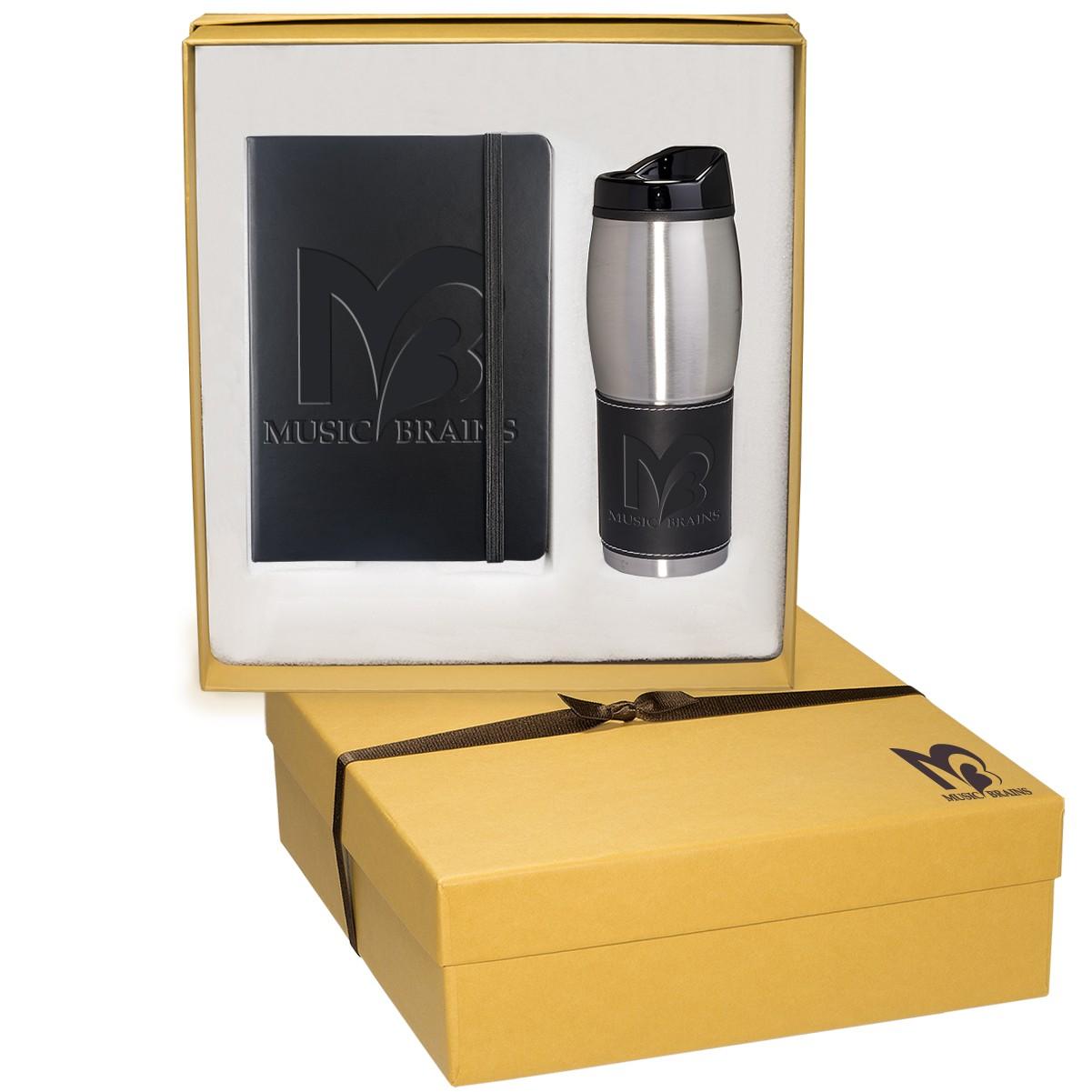 Tuscany™ Journal & Tumbler Gift Set