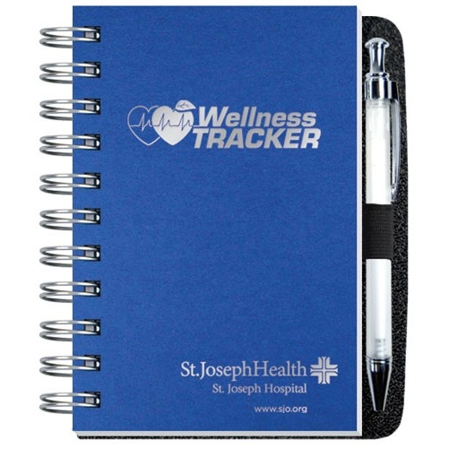 "4""x6"" Wellness Journals w/ Pen"