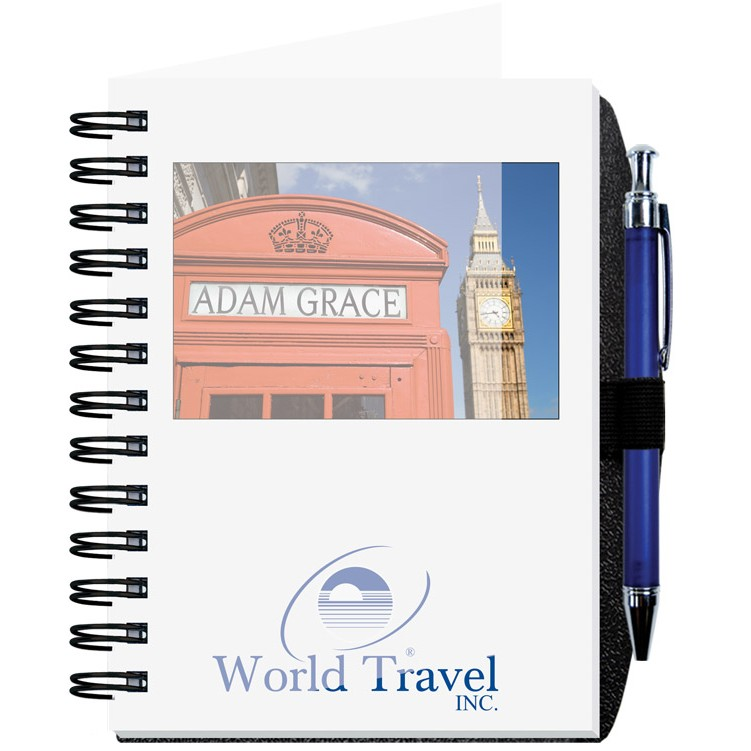 """5""""x7"""" Personalized Image Journals w/ 100 Sheets & Pen"""