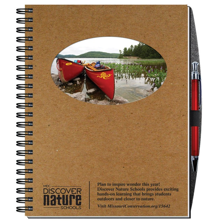 """8 1/2""""x11"""" Personalized Image Journals w/ 100 Sheets & Pen"""
