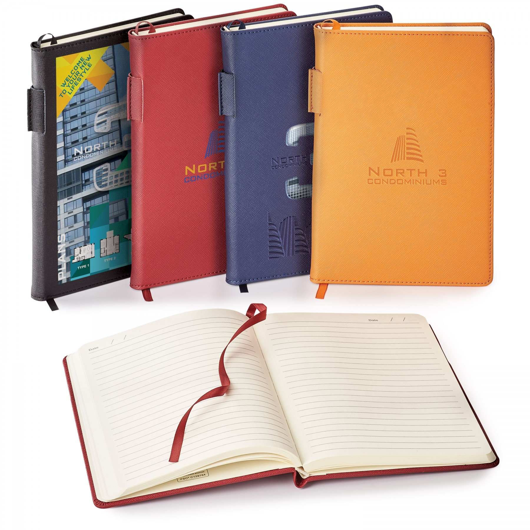 Genuine Leather Non-Refillable Journal