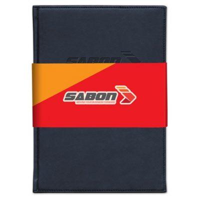 Pedova Large Graphic Wrap Bound JournalBook™