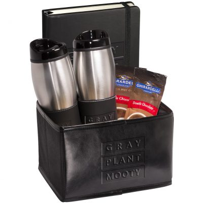 Tuscany™ Tumblers & Journal with Ghirardelli® Cocoa Set