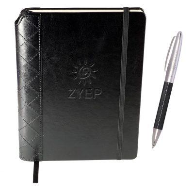 Venezia™ Quilted Edge Journal w/Pen