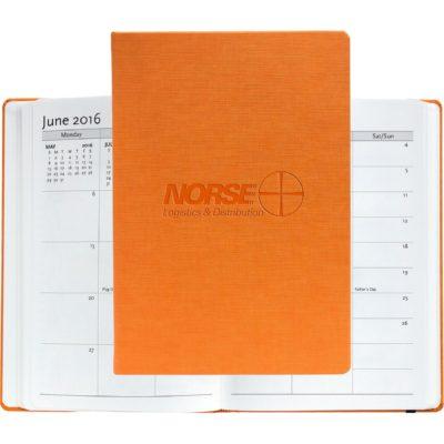 "Casebound Hybrids™ - Bohemian™ Textured Journal w/Planner - Large (7""x10"")"