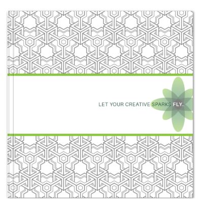 "CreativeSpark™ Square Journal (8""x8"")"