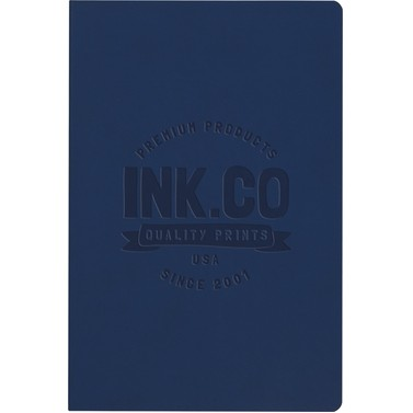"""Large SoftPedova™ Journal w/Full Color Tip-In Page (6.5""""x9.5"""")"""