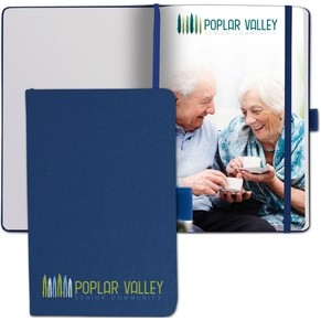 "NEW! Mini Nova Journal™ w/Full Color Tip-In Page (3.5""x5.5"")"