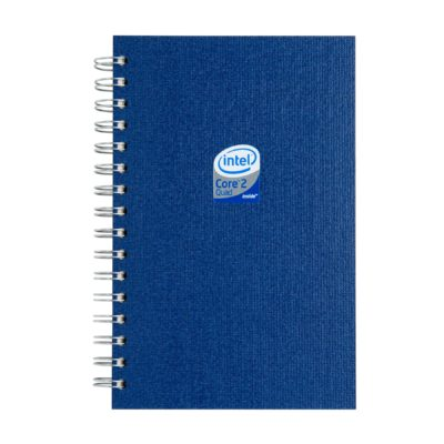 "Eco Spiral Journals w/ 100 Sheets 5.25""x8.25"""