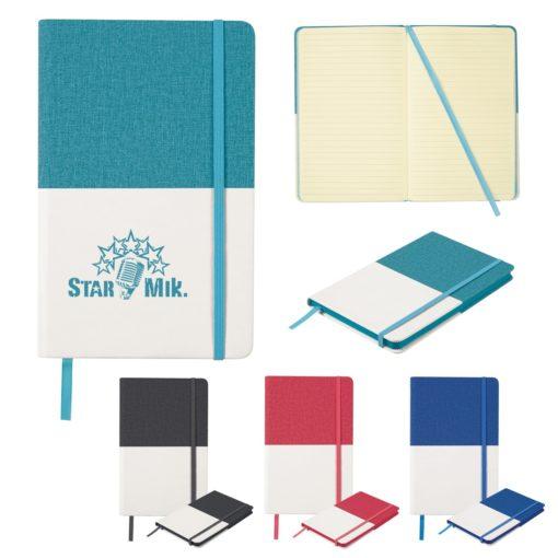 Two-Tone Heathered Journal