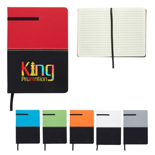 Two-Tone Leatherette Journal