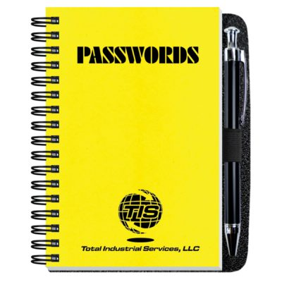 """4""""x6""""Password Keeper w/ Pen Safe"""