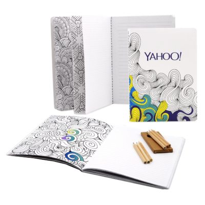 """5""""x7"""" COLORING JOURNAL 48 pages"""