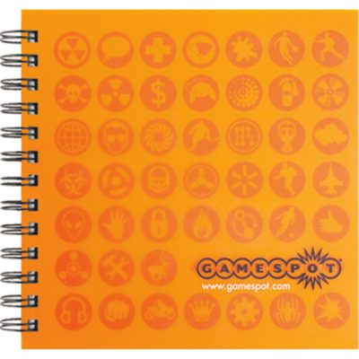 "Prestige Cover Series 2 Square NoteBook (7""x7"")"