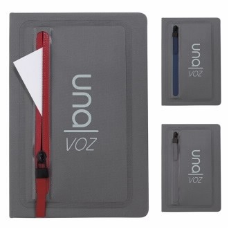 Good Value® Sleek Zippered Pocket Journal