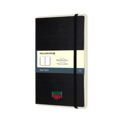 Moleskine® Paper Tablet N°1 - Ruled Paper - Black