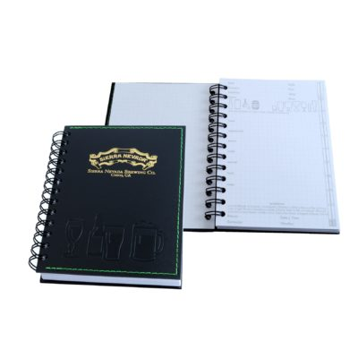 "5"" x 7"" Beer Tasting Spiral Journal Notebook"