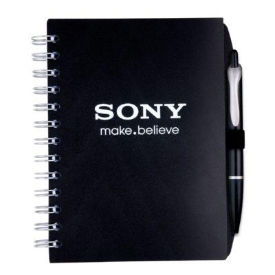 """5"""" x 7"""" Pen Spiral Journal Notebook"""