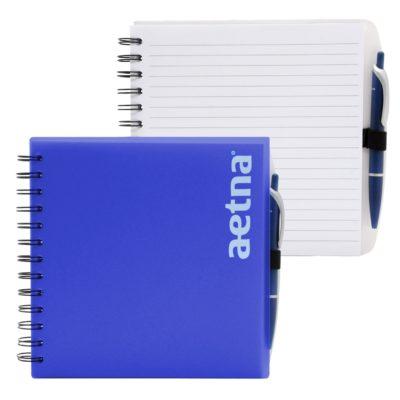 """7"""" x 7"""" Pen Spiral Journal Notebook"""