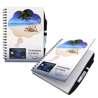 "7"" x 9"" Dry Erase Spiral Journal Notebook"