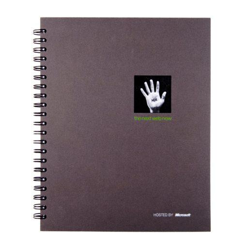 "8.5"" x 11"" Window Spiral Journal Notebook"