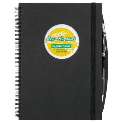 Frame Circle Large Hardcover Spiral JournalBook™