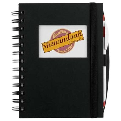 Frame Rectangle Hardcover Spiral JournalBook™