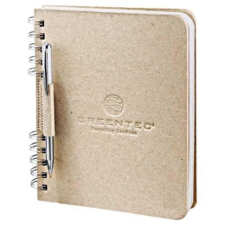 Recycled Cardboard Spiral JournalBook™