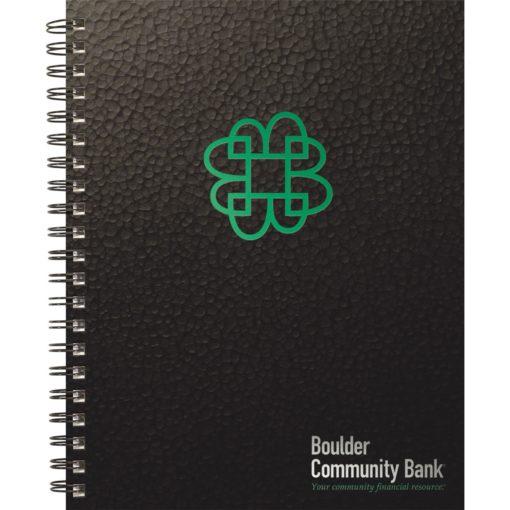 "TexturedMetallic Journals Large NoteBook (8.5""x11"")"