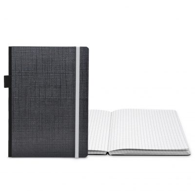 "Classic Contempo Bookbound Journal 5"" x 7"" with Matching Elastic Closure"
