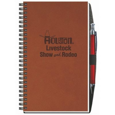 "Executive Journals w/50 Sheets & Pen (5 1/4""x8 1/4"")"