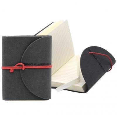 "Leather Perfect Flap Book-Bound Journal - 3""x4"""