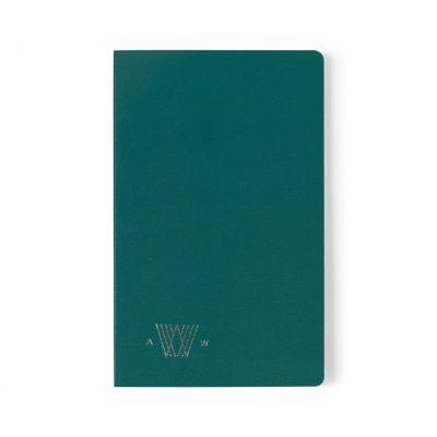 Moleskine® Volant Ruled Large Journal Green