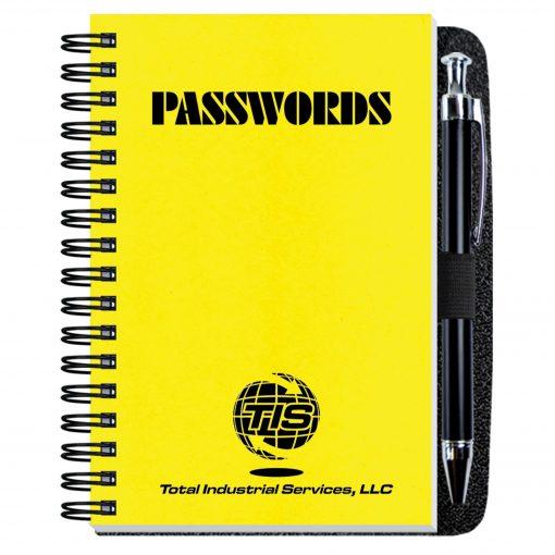 """Password Keeper w/Pen Safe (4""""x6"""")"""