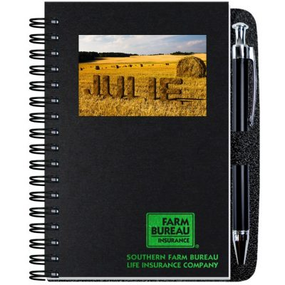 "Personalized Image Shadowbox Journals w/100 Sheets & Pens (4""x6"")"
