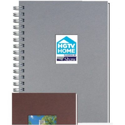 "Shadowbox Smooth Paperboard Journals w/100 Sheets & Pen (7""x10"")"