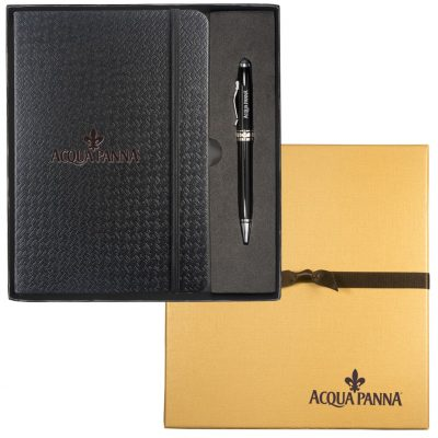 Textured Tuscany™ Journal & Executive Stylus Pen Set